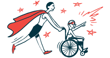 rare disease clinical trial participants | Dravet Syndrome News | Illustration of woman in cape pushing child in wheelchair